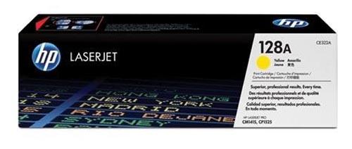 Original  Tonerpatrone gelb HP Color LaserJet Pro CM 1400 Series