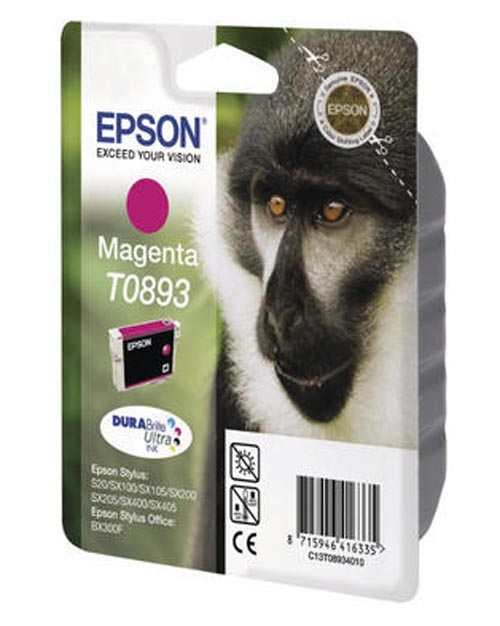 Original  Tintenpatrone magenta, Epson Stylus S 21