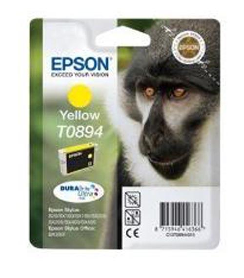 Original  Tintenpatrone gelb, Epson Stylus S 21