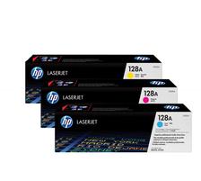 Original 3  Tonerpatronen CMY (Rainbow-Kit) HP Color LaserJet Pro CM 1400 Series