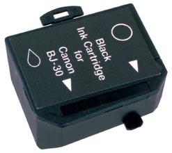 Peach 3  Tintenpatronen schwarz kompatibel zu Canon Compri BN 700 Series