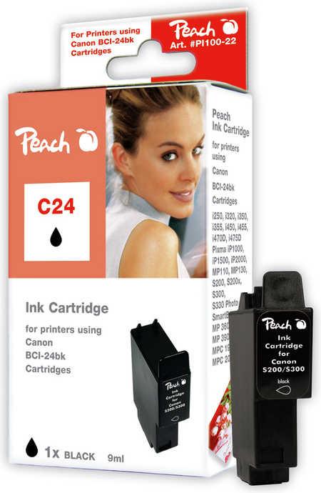 Peach  Tintenpatrone schwarz kompatibel zu Canon S 200 SP