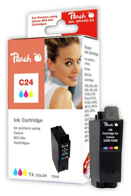 Peach  Tintenpatrone color kompatibel zu Canon S 200 SP