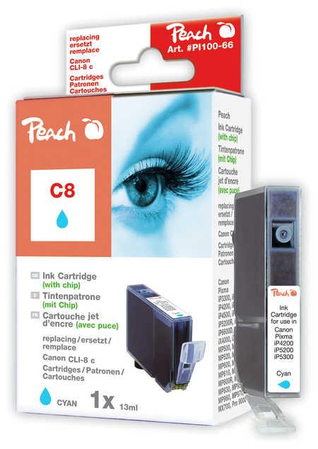 Peach  Tintenpatrone cyan kompatibel zu Canon Pixma Pro 9000 Mark II