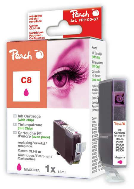 Peach  Tintenpatrone magenta kompatibel zu Canon Pixma Pro 9000 Mark II
