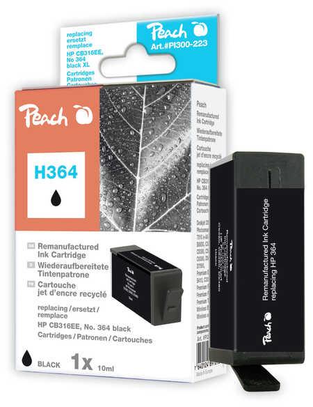 Peach  Tintenpatrone schwarz kompatibel zu HP PhotoSmart Premium Fax C 309 a