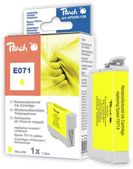 Peach  Tintenpatrone gelb kompatibel zu Epson Stylus S 21