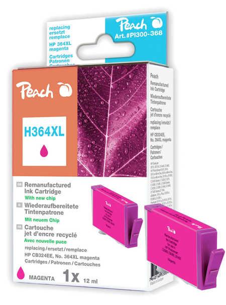 Peach  Tintenpatrone magenta kompatibel zu HP PhotoSmart Premium Fax C 309 a