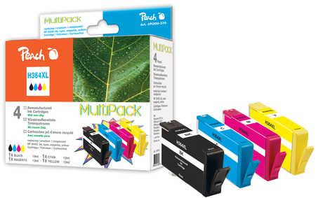 Peach  Spar Pack Tintenpatronen kompatibel zu HP PhotoSmart Premium Fax C 309 a