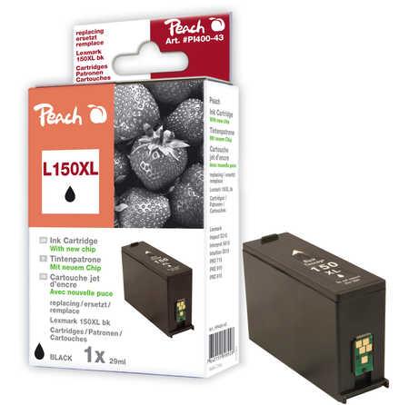 Peach  Tintenpatrone schwarz XL kompatibel zu Lexmark Pro 915