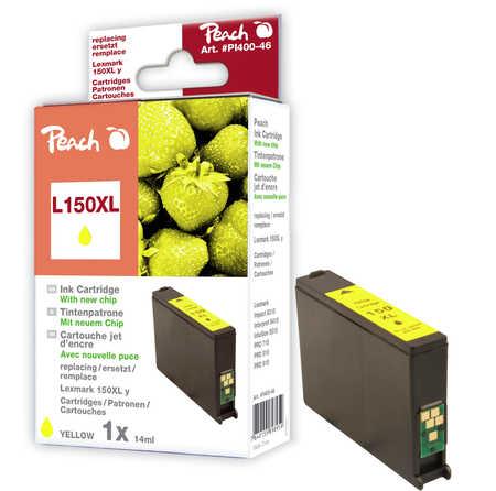 Peach  Tintenpatrone gelb XL kompatibel zu Lexmark Pro 915