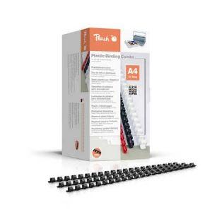 Peach  Binderücken 4mm, A4, schwarz, 200 Stück - PB404-02