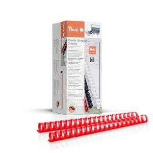 Peach  Binderücken 22mm, für 210 Blatt A4, rot, 50 Stück, PB422-03
