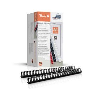 Peach  Binderücken 28mm, für 270 Blatt A4, schwarz, 50 Stück, PB428-02