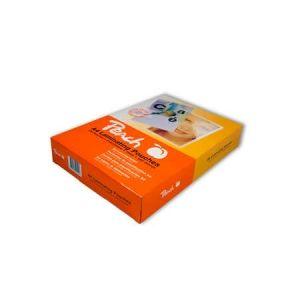 Peach  Laminierfolien A4, 250 mic, glänzend, PP550-02, 100 Stk.