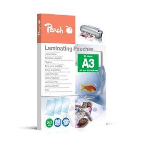 Peach  Laminierfolien A3, 80 mic, glänzend, PP580-01, 100 Stk.