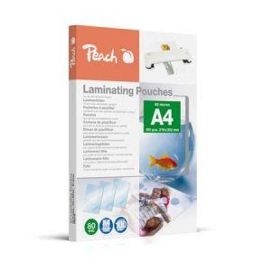 Peach  Laminierfolien A4, 80 mic, glänzend, PP580-02, 100 Stk.