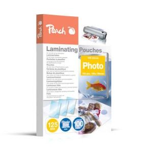 Peach  Laminierfolien Photo 106 x 156mm, 125 mic, glänzend, S-PP525-19, 100 Stk.