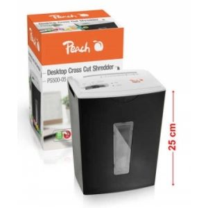 Peach  Mini Desktop Cross Cut Aktenvernichter - PS500-05