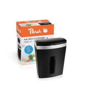 Peach  Auto Mikro Cut Aktenvernichter - PS600-10