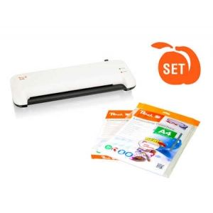 Peach  Vorteils-Set Premium Laminator PL750 + Starterpaket Laminierfolien 125 Stück
