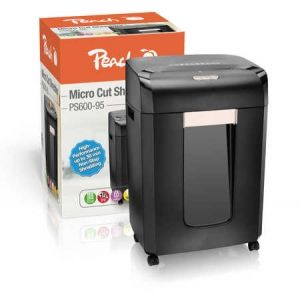 Peach  Micro Cut Aktenvernichter - PS600-95 High Performance